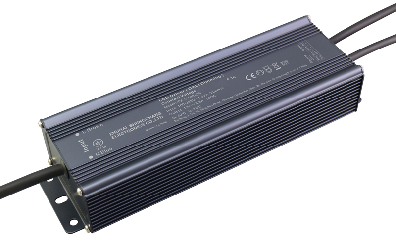 100W DALI constant voltage dimmable LED driver