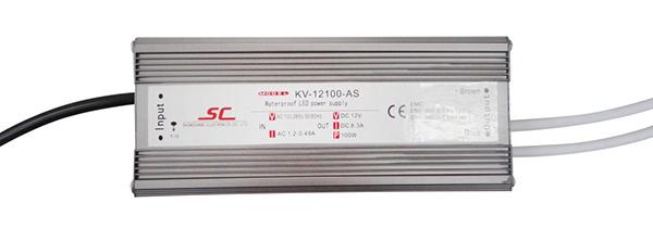Bộ nguồn LED Chống Nước Điện Áp Không Đổi 100 W PFC EMC CV