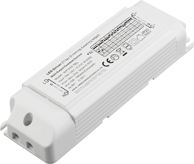 120VAC KIP series 15W multi-current triac dimmable driver