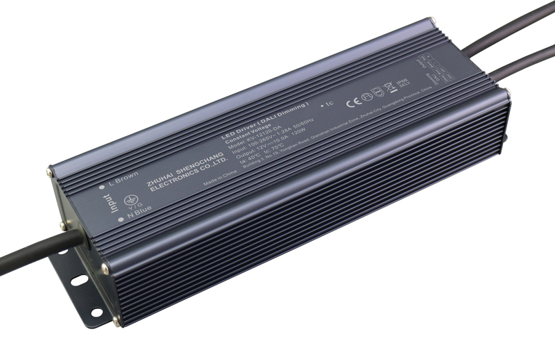 120W DALI constant voltage dimmable LED driver