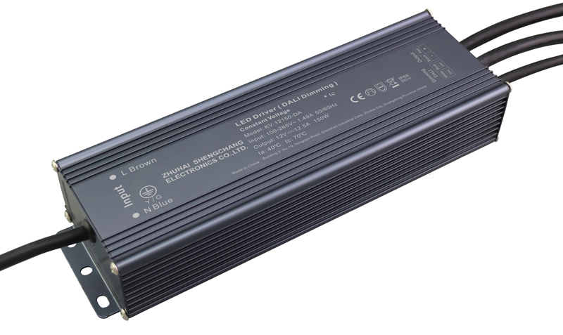150W DALI constant voltage dimmable LED driver