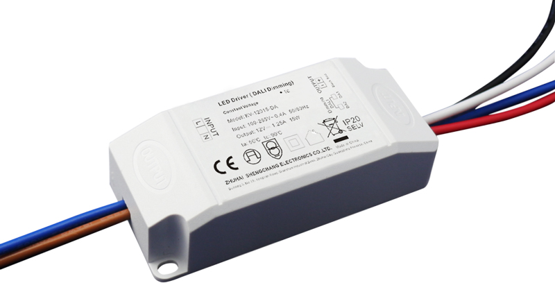 15W DALI constant voltage dimmable LED driver