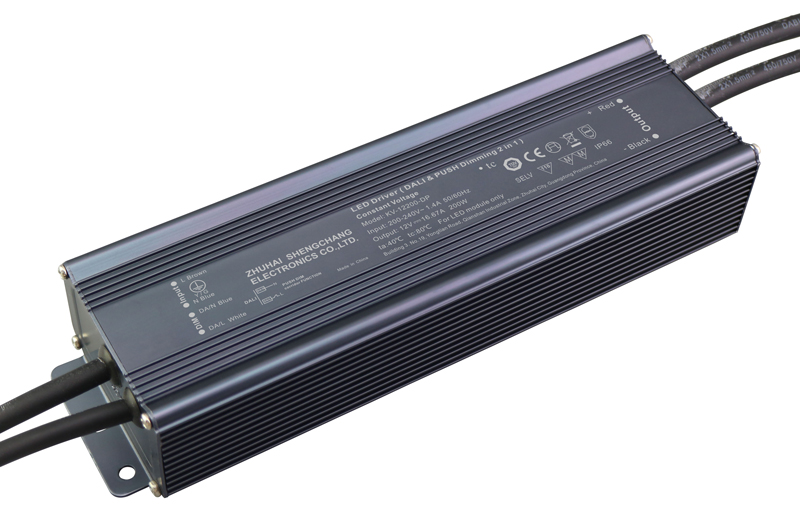 80W DALI constant voltage dimmable LED driver