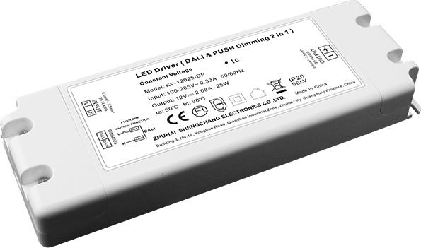 Bộ Nguồn LED Mờ Nhẹ DALI & PUSH-DIM 25W Điện Ap Không Đổi