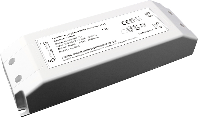 30W ZigBee/0-10V C.C. dimmable driver