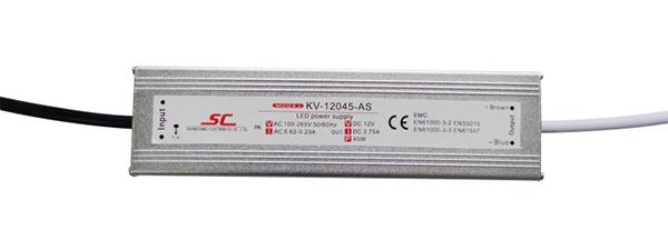 Bộ nguồn LED Chống Nước Điện Áp Không Đổi 45 W PFC EMC CV