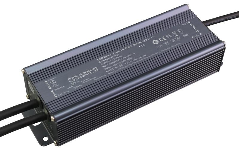 Bộ Nguồn LED Mờ Nhẹ DALI & PUSH-DIM 80W Điện Ap Không Đổi