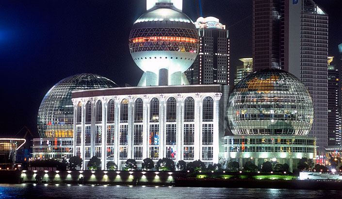 Shanghai International Convention Center(Banquest Hall of CICA Summit)