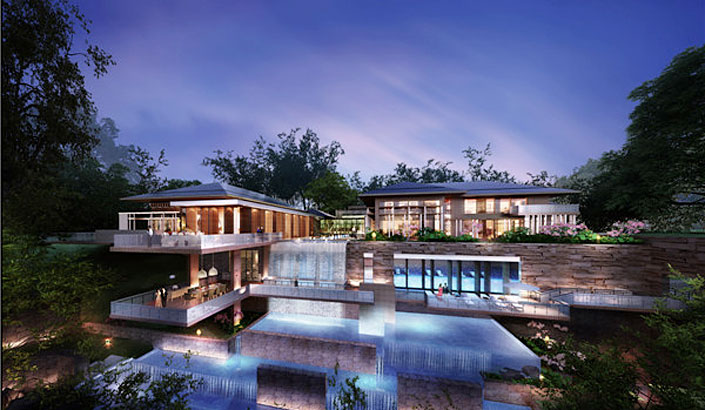 Beijing Yanqi Lake APEC/G20 Villa vn