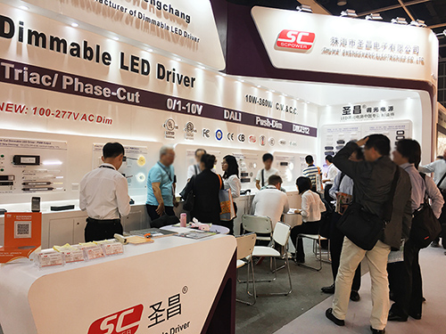 2018 Hong Kong International Lighting Fair (sprint) -SC dimmable LED driver