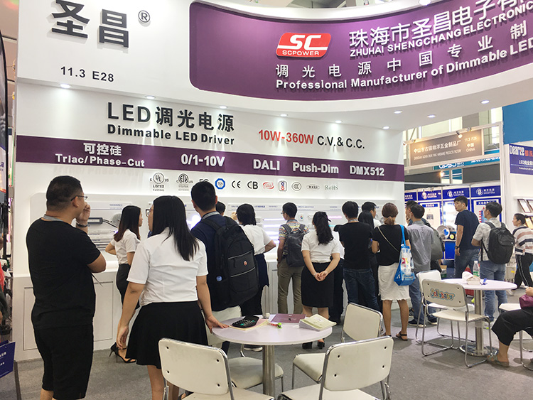 2018 Guangzhou International Lighting Exhibition – SC dimmable LED driver