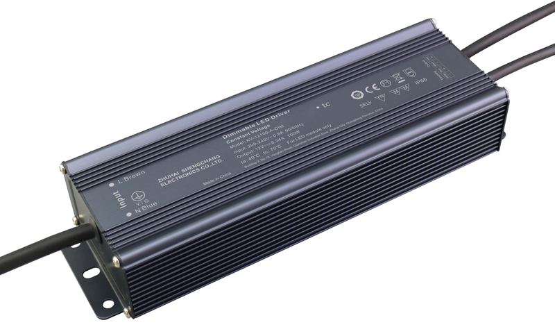 100W 0/1-10V constant voltage dimmable LED driver