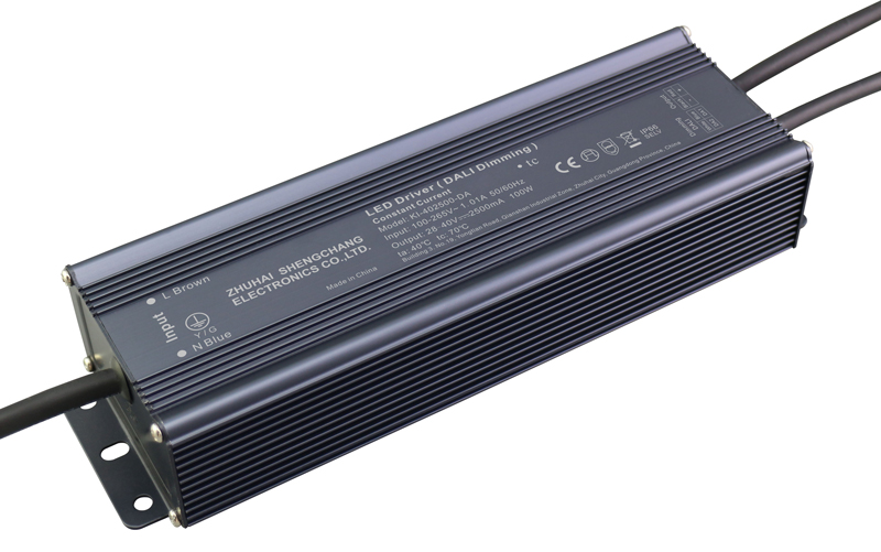 100W DALI constant current dimmable LED driver
