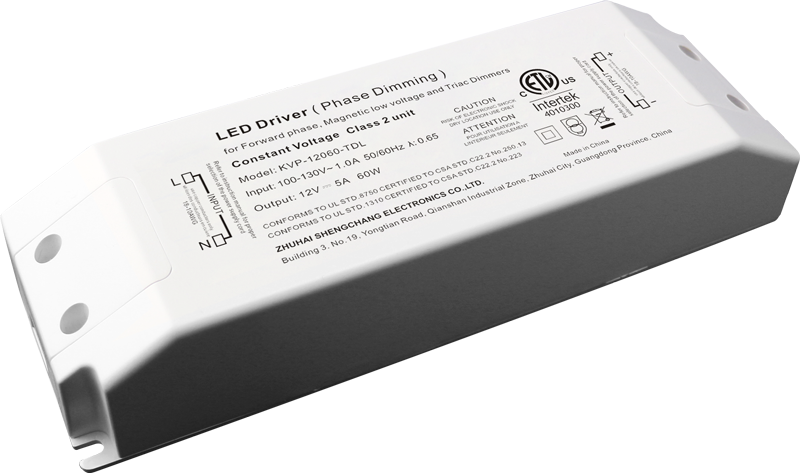 120VAC KVP series 60W constant voltage Triac dimmable driver