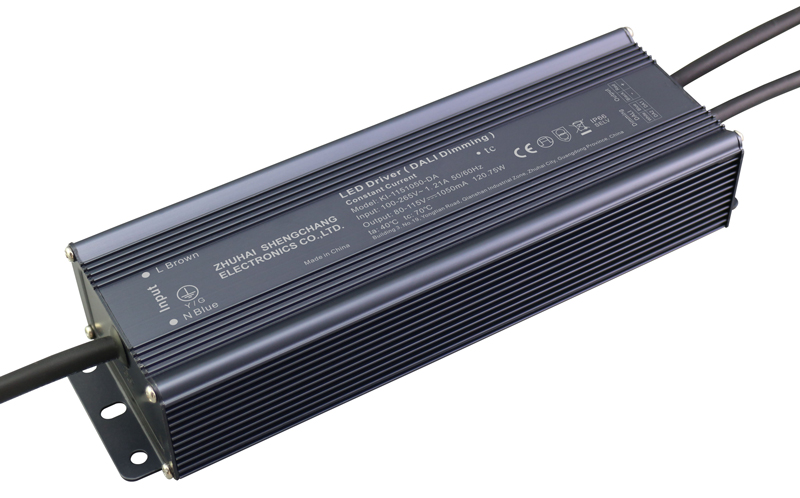 120W DALI constant current dimmable LED driver