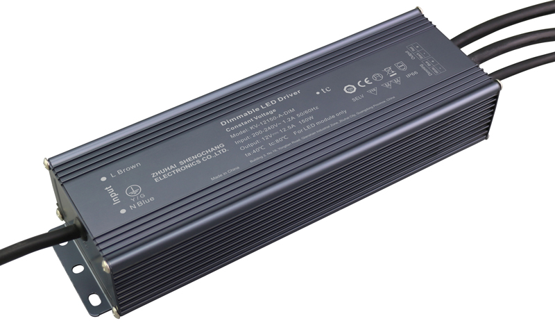 150W 0/1-10V constant voltage dimmable LED driver