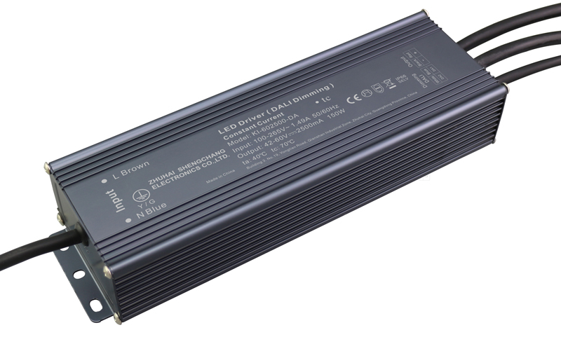 150W DALI constant current dimmable LED driver