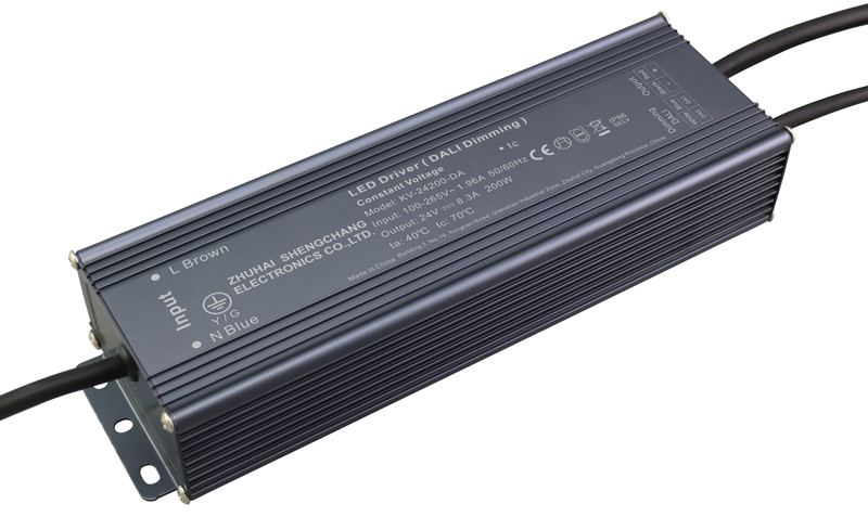 200W DALI constant voltage dimmable LED driver