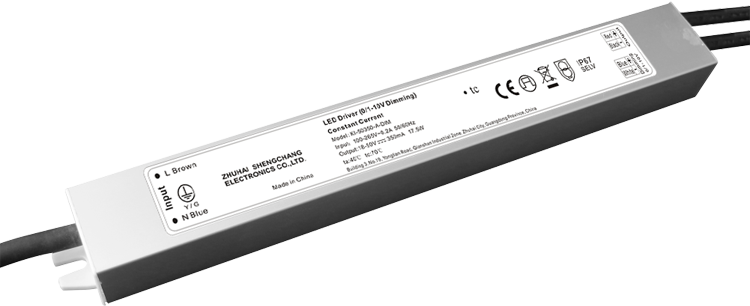 20W IP67 0/1-10V constant current dimmable LED driver