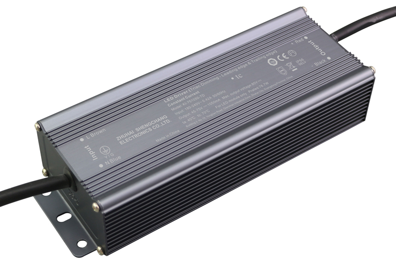 220VAC KI series 80W constant current triac LED driver
