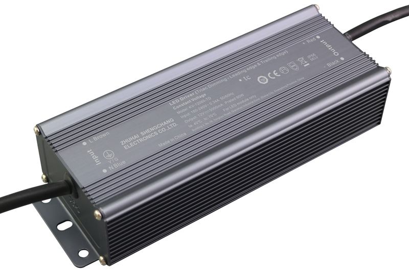 220VAC KV series 60W constant voltage triac LED driver