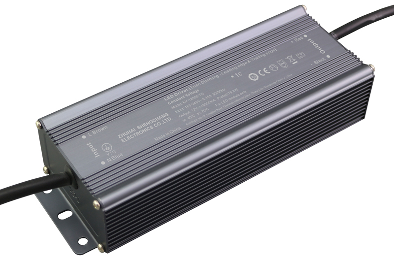 220VAC KV series 80W constant voltage triac LED driver
