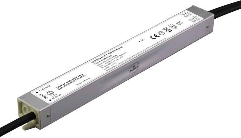 30W IP67 0/1-10V constant voltage dimmable LED driver
